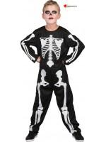 Baby costume skeleton