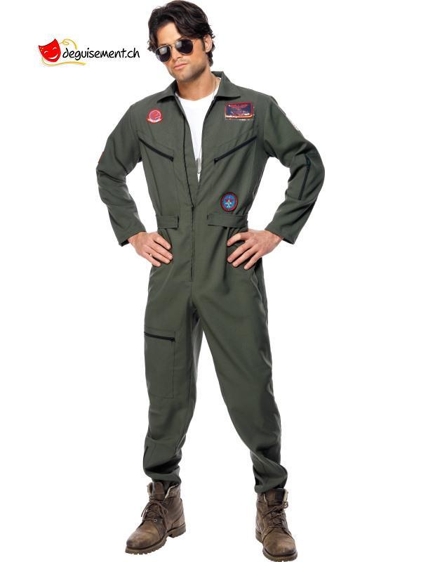 Green Top Gun Costume