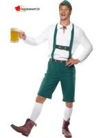 Tyrolean disguise green man