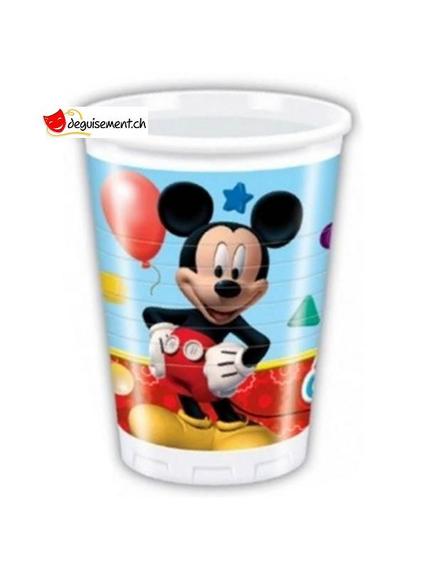 Gobelets Mickey Mouse - 8 pièces