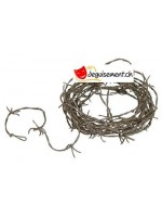 Rusty Barbed Wire Garland<br>