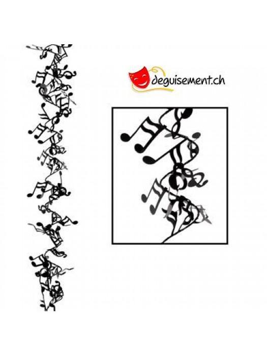 Guirlande notes de musique 7.6m