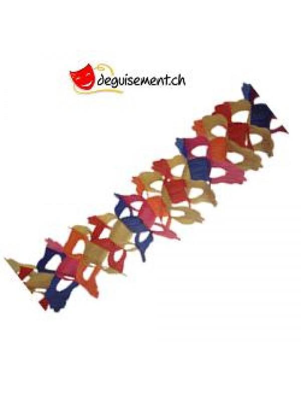 Guirlande Zinnia Multicolore