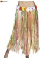 Hawaiian Hula Skirt, Multi-Coloured