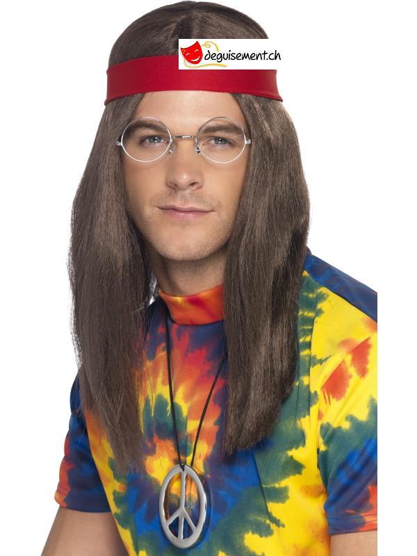 Kit accessoires hippie homme