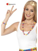 Kit bracelet et collier peace & love