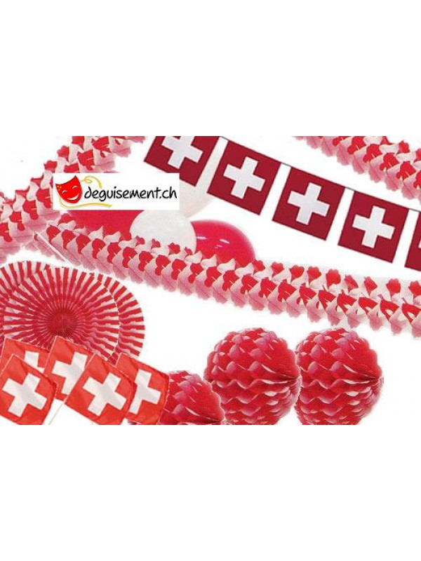Kit décoration Suisse