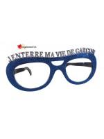 Giant glitter glasses - j'enterre ma vie de garçon