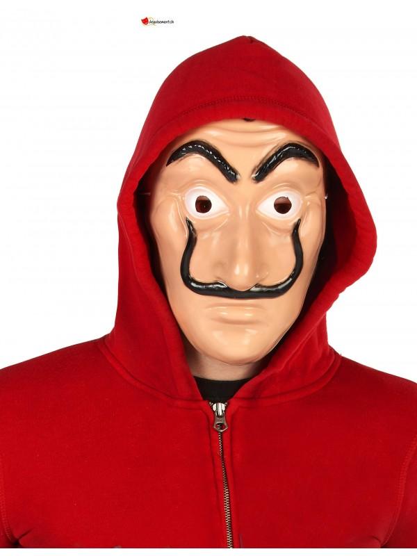 Masque Braqueur en plastique