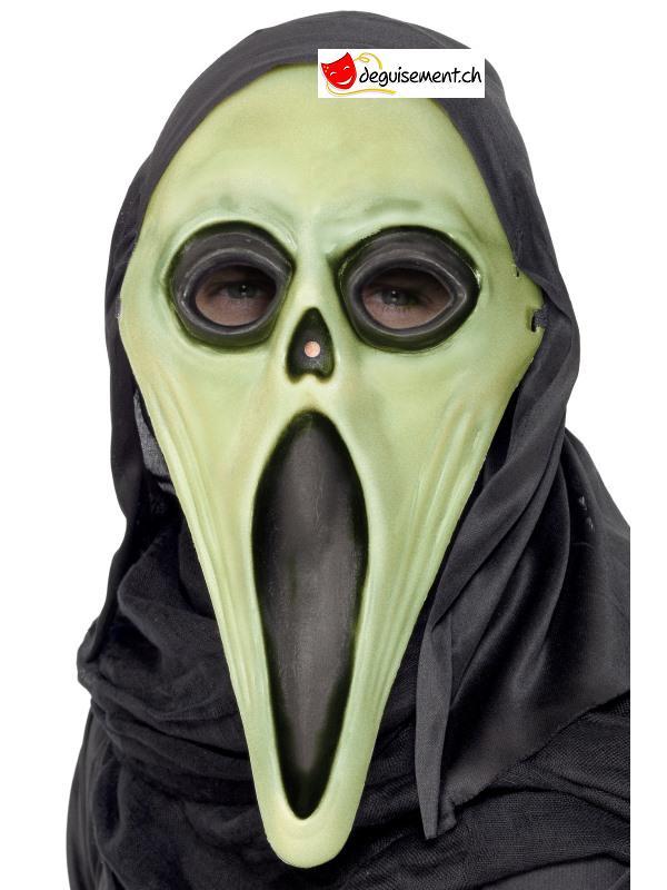 Masque Screamer avec capuche - taille unique