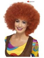 Afro auburn wig