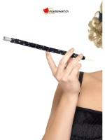 Porte-cigarette noir à paillettes