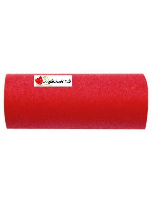 Ruban décoration rouge tissu non tissé