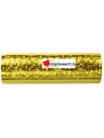 Serpentins dorés - 18 lanceurs