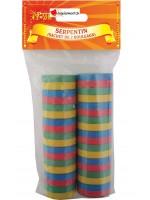 Serpentins multicolors - 2 pièces