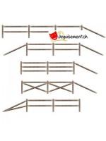 Split rail fence prop